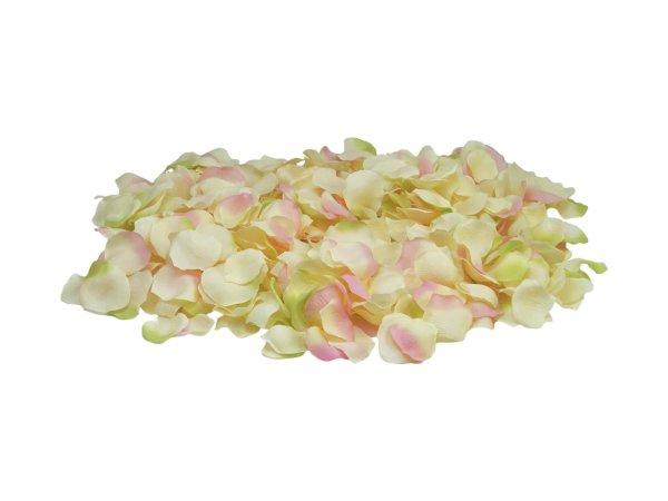 EUROPALMS Rosenblätter, künstlich, gelb/pink, 500x