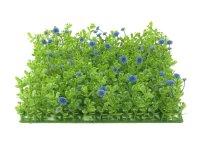 EUROPALMS Buchsmatte, künstlich, grün-lila,...