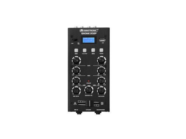 OMNITRONIC GNOME-202P Mini-Mixer schwarz