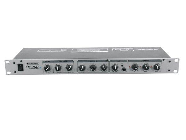 OMNITRONIC EM-260 Entertainment-Mixer