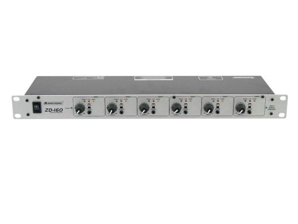 OMNITRONIC ZD-160 Zonen-Verteiler