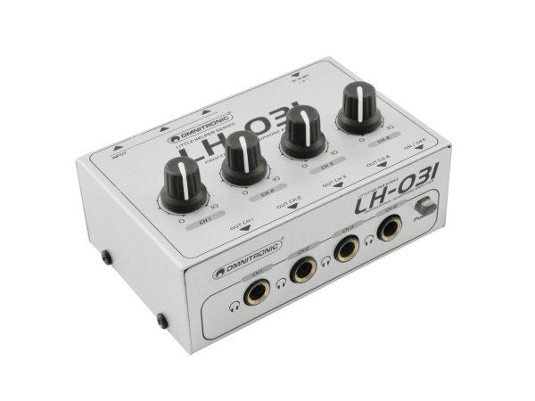 OMNITRONIC LH-031 Kopfhörerverstärker