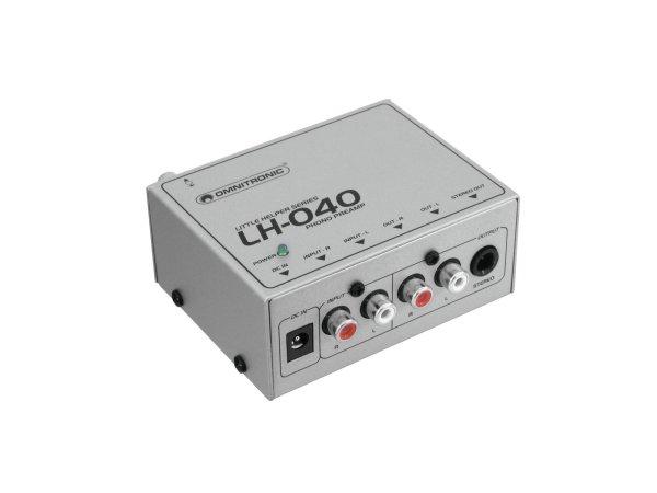 OMNITRONIC LH-040 Phono-Vorverstärker