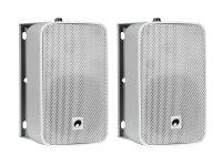 OMNITRONIC ODP-204 Installationslautsprecher 16 Ohm weiß 2x