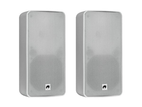 OMNITRONIC ODP-206 Installationslautsprecher 16 Ohm weiß 2x