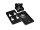 OMNITRONIC Wandhalterung für ODP-204/206 schwarz 2x