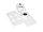 OMNITRONIC Wandhalterung für ODP-204/206 weiß 2x