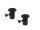 OMNITRONIC BOB-4 Stativhülse schwarz 2x