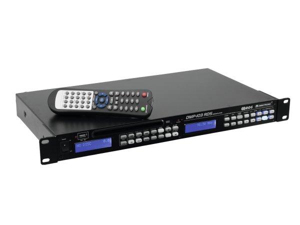 OMNITRONIC DMP-103RDS Mediaplayer