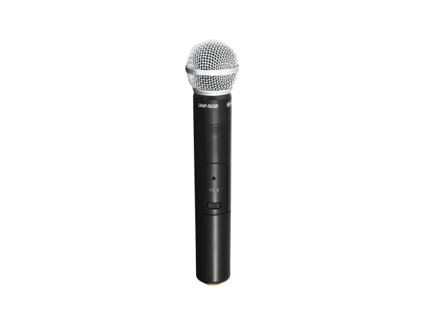 OMNITRONIC UHF-502 Handmikrofon (CH B orange)