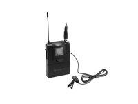 RELACART ET-60 Bodypack mit Lavalier-Mikrofon für WAM-402