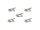 OMNITRONIC Mikrokabelclip, hautfarben 5x