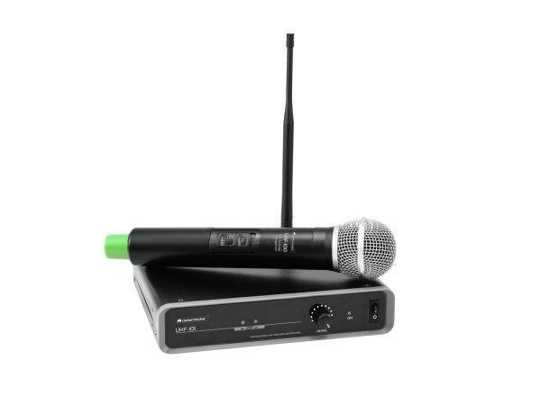 OMNITRONIC UHF-101 Funkmikrofon-System 830.3MHz