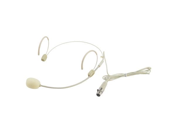 OMNITRONIC UHF-300 Kopfbügelmikrofon hautfarben