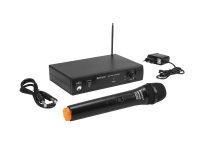 OMNITRONIC VHF-101 Funkmikrofon-System 212.35MHz