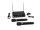 OMNITRONIC VHF-102 Funkmikrofon-System 212.35/200.10MHz