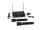 OMNITRONIC VHF-102 Funkmikrofon-System 209.80/205.75MHz