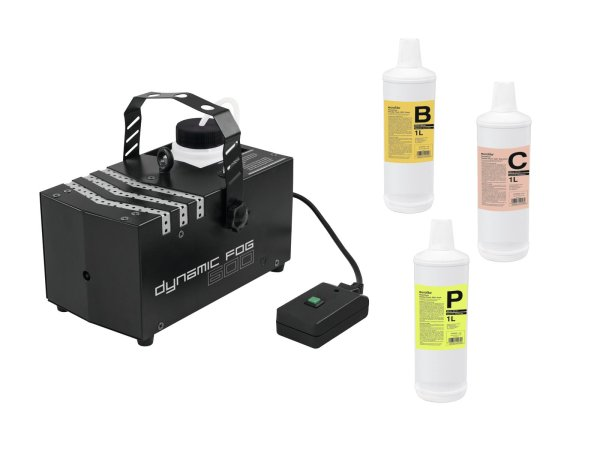 EUROLITE Set Dynamic Fog 600 + Fluide