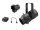 EUROLITE Set LED PFE-50 + Linsentubus 19° + DMX-Interface