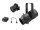 EUROLITE Set LED PFE-50 + Linsentubus 26° + DMX-Interface