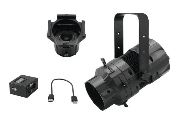 EUROLITE Set LED PFE-50 + Linsentubus 50° + DMX-Interface