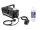 EUROLITE Set N-11 LED Hybrid blau Nebelmaschine + A2D Action Nebelfluid 1l