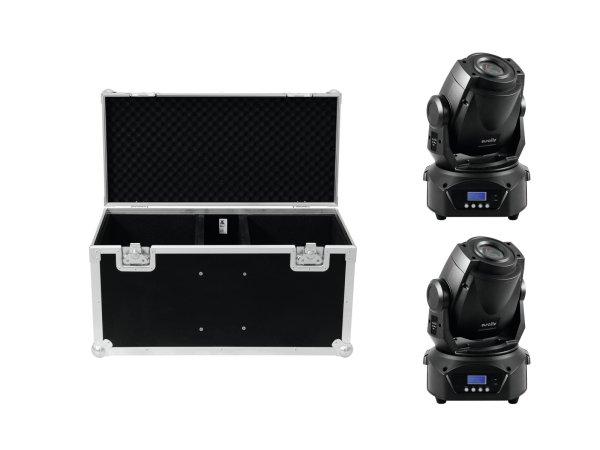 EUROLITE Set 2x LED TMH-60 MK2 + Case