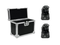 EUROLITE Set 2x LED TMH-8 + Case