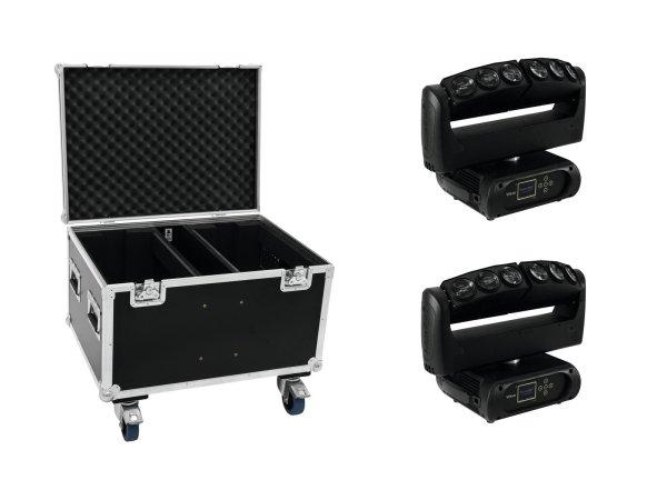 FUTURELIGHT Set 2x Wave LED-Moving-Leiste + Case