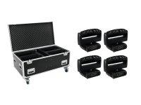 FUTURELIGHT Set 4x Wave LED-Moving-Leiste + Case