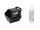 EUROLITE Set B-90 Seifenblasenmaschine schwarz + Seifenblasenfluid 1l