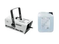 EUROLITE Set Snow 5001 Schneemaschine + Schneefluid 5l