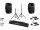 OMNITRONIC Set VFM-215AP + VFM-215A + WS-1T + WS-1R + Boxenhochständer MOVE MK2