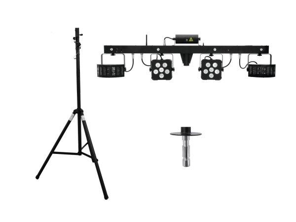 EUROLITE Set LED KLS Laser Bar PRO + STV-40-WOT Alustativ