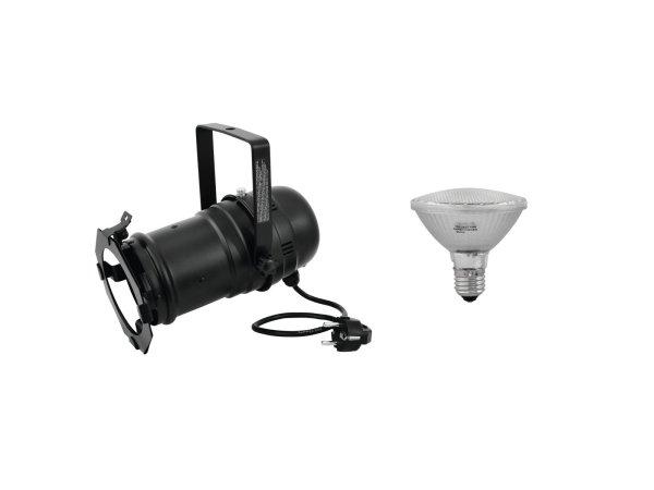 EUROLITE Set PAR-30 Spot sw + PAR-30 230V SMD 11W E-27 LED 3000K