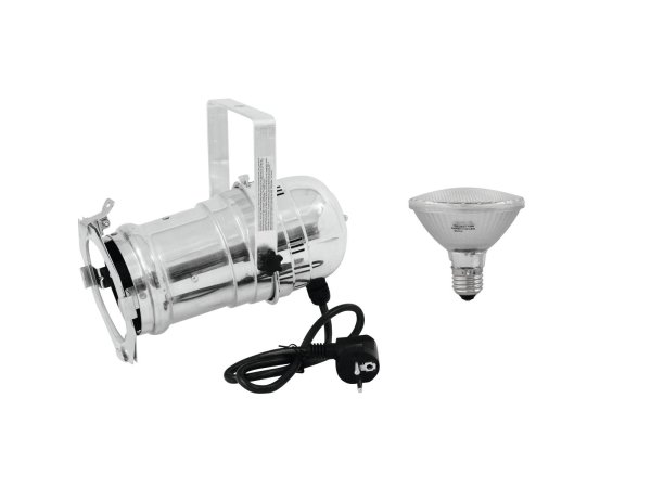 EUROLITE Set PAR-30 Spot sil + PAR-30 230V SMD 11W E-27 LED 3000K