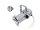 EUROLITE Set PAR-16 Spot sil + MR-16 12V GX-5,3 5W LED COB 6400K