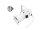 EUROLITE Set PAR-16 Spot ws + MR-16 12V GX-5,3 5W LED COB 6400K