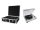 OMNITRONIC Set DD-2550 USB-Plattenspieler sil + Case schwarz -S-