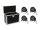 EUROLITE Set 4x LED SLS-603 + Case EC-SL4M Größe M