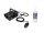 EUROLITE Set N-10 schwarz + A2D Action Nebelfluid 1l