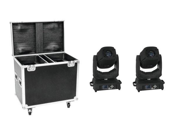 EUROLITE Set 2x LED TMH-X20 Moving-Head Spot + Case