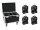 EUROLITE Set 4x LED MFX-3 Action Cube + Case