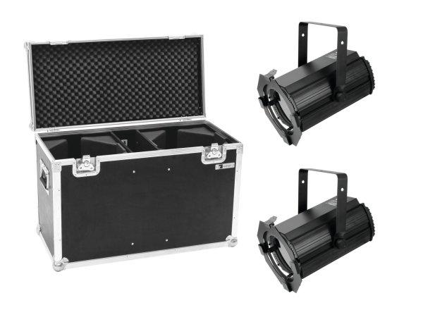 EUROLITE Set 2x LED THA-100F Theater-Spot + Case