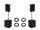 OMNITRONIC Set 2x XKB-212A + 2x MagiCarpet-151A MK2