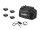 EUROLITE Set 4x AKKU Flat Light 3 sw + Ladenetzteil + Soft-Bag