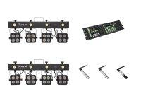 EUROLITE Set 2x KLS-180 + Color Chief + QuickDMX Sender + 2x Empfänger