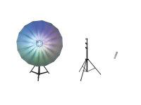 EUROLITE Set LED Umbrella 140 + STV-50-WOT