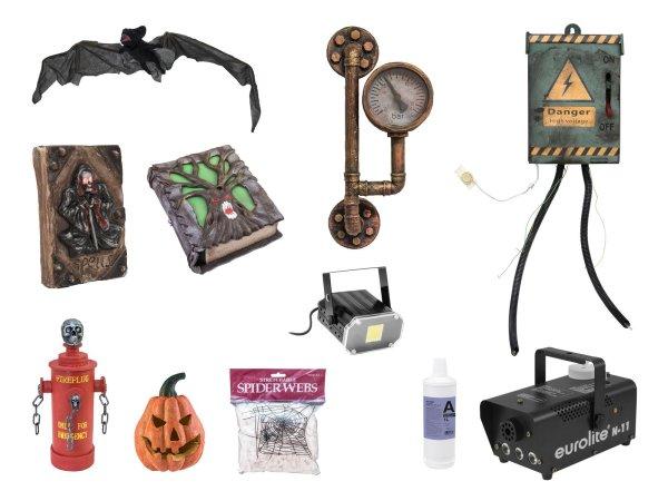EUROPALMS Set Halloween Zubehör