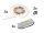 EUROLITE Set LED Strip 3000K 15m Constant Current + Trafo 24V